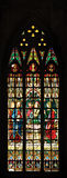 Gothic Stained Glass Window Royalty Free Stock Photos
