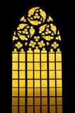 Gothic stained glass window Royalty Free Stock Image