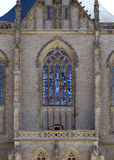 Gothic stained window Royalty Free Stock Photo
