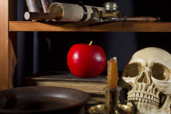 Gothic still life Stock Photo