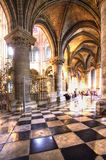 Gothic Stone Cathedral Royalty Free Stock Images