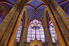 Gothic Stone Cathedral Stock Images