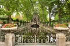 Free Gothic Stone Garden And Pond Stock Photo - 29432560