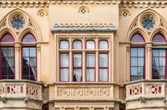 Gothic style building, Mdina, Malta Stock Photography