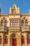 Gothic style building, Mdina, Malta Royalty Free Stock Photos