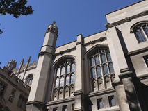 Gothic style building, University of Chicago Stock Photo
