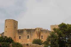 Bellver Castle Palma de Mallorca Spain stock image