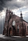 Gothic -style church Royalty Free Stock Image