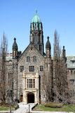 Gothic Style College Building Royalty Free Stock Photo