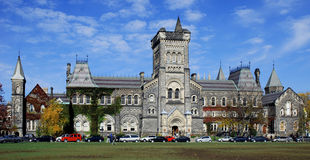 Gothic Style College Building Stock Photography