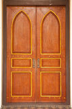 Gothic style door. Royalty Free Stock Photos
