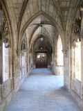 Gothic Style Entrance way. Gothic Style Sunlit Entrance way Royalty Free Stock Photos