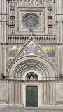 Gothic  style facade Stock Images