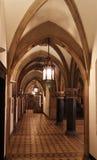 Gothic Style Hallway Stock Photos