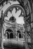 Gothic style. Some architectural details from the Jeronimos Monastery in Lisbon, Portugal Royalty Free Stock Photo