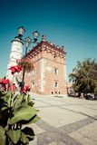 Gothic style Town Hall with Renaissance attic in the Old Town in Royalty Free Stock Photography