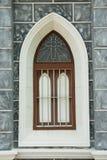 Gothic style window. Stock Image