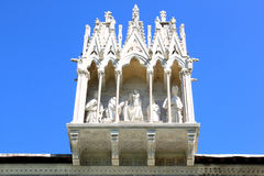 Gothic tabernacle of Camposanto, Pisa, Italy Stock Photo