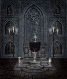 Gothic temple 5 Royalty Free Stock Photo
