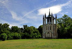 Gothic temple Krasny Dvur Royalty Free Stock Photos