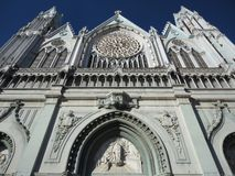 Gothic Templo Expiatorio Royalty Free Stock Photography