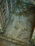 Gothic tomb floor Stock Images