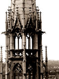 Gothic tower royalty free stock image