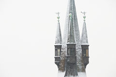 Gothic tower Royalty Free Stock Images