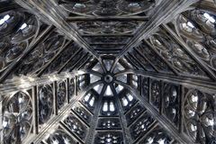 Gothic tower decoration Royalty Free Stock Photos