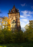 The Gothic tower, Pushkin, Russia Stock Photo