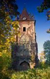 The Gothic tower, Pushkin, Russia Royalty Free Stock Photo