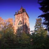 The Gothic tower, Pushkin, Russia Royalty Free Stock Image