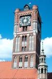 Gothic tower Torun Poland Royalty Free Stock Photo