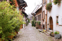 Gothic town in France Royalty Free Stock Photos