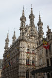 Gothic Town Hall in Leuven, Belgium. Royalty Free Stock Image
