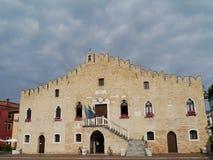 The gothic town hall of Portogruaro Royalty Free Stock Image