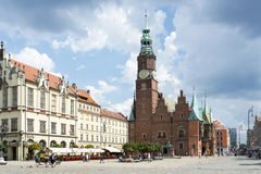 Gothic Town Hall Royalty Free Stock Images