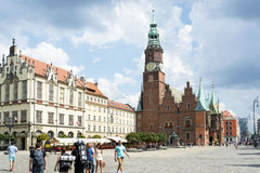 Gothic Town Hall Stock Photo