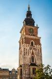 Town Hall Tower in Krakow, Poland royalty free stock photos