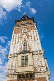 Gothic Town Hall Tower Stock Photos