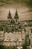 Gothic Tyn Cathedral in Old Town Square, Prague Royalty Free Stock Photo