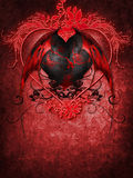 Gothic Valentine heart Royalty Free Stock Photo