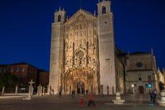 Gothic Valladolid Spain Stock Photo
