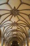 Gothic vault Stock Images