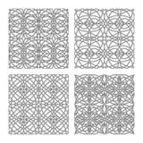 Gothic patterns set Stock Images