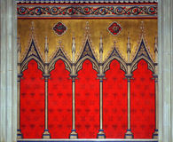 Gothic Wall Decoration Royalty Free Stock Photography