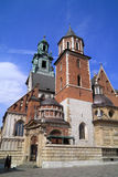 The Gothic Wawel Castle and catedral in Krakow Poland Stock Photo