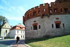 The Gothic Wawel Castle in Krakow in Poland was built from 1333 to 1370 Stock Photos