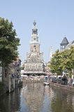 Gothic Weighing House, Alkmaar, the Netherlands Stock Photos