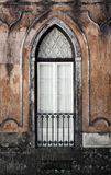 Gothic Window. Of an old romantic palace in Sintra, Portugal Stock Photos